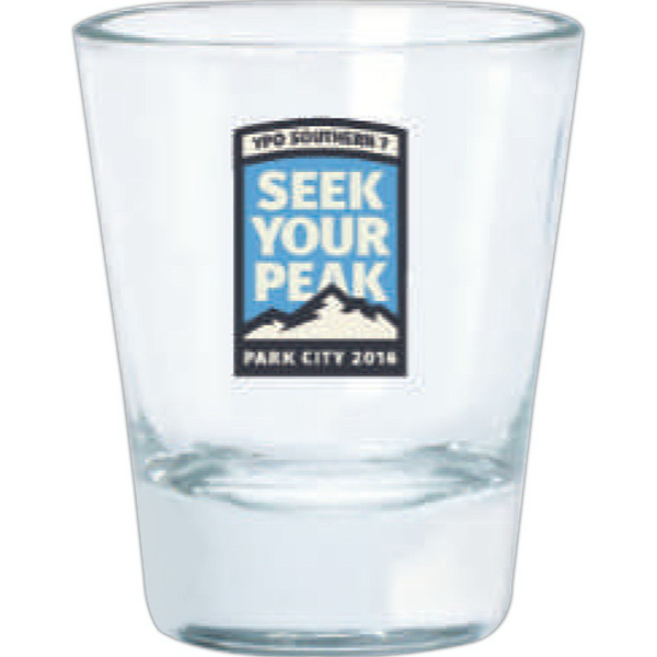 Imprinted Clear shot glass