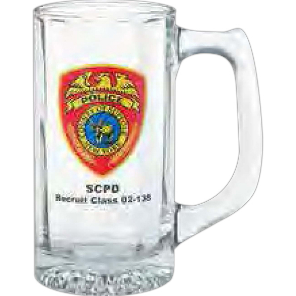 Personalized Glass sports stein