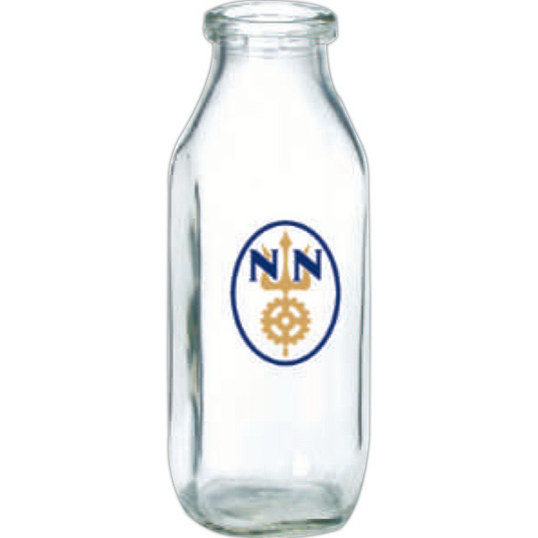 Promotional Glass milk bottle