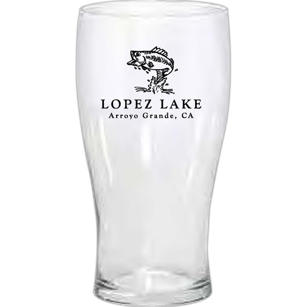 Personalized Pub glass glassware