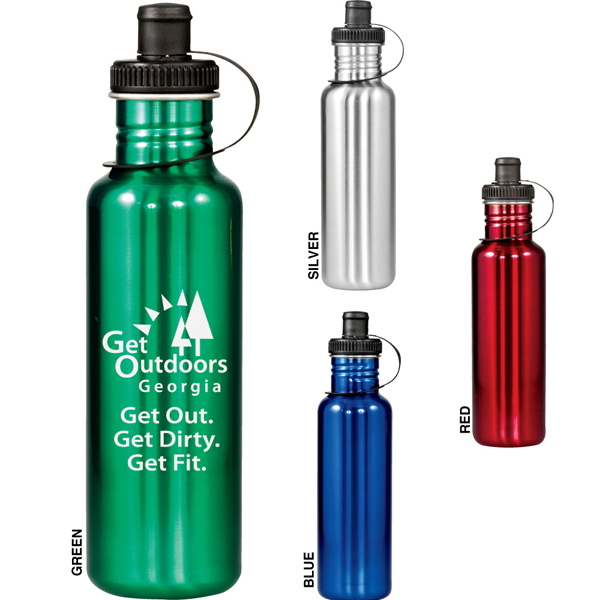 Imprinted Adventure 28 oz Stainless Bottle
