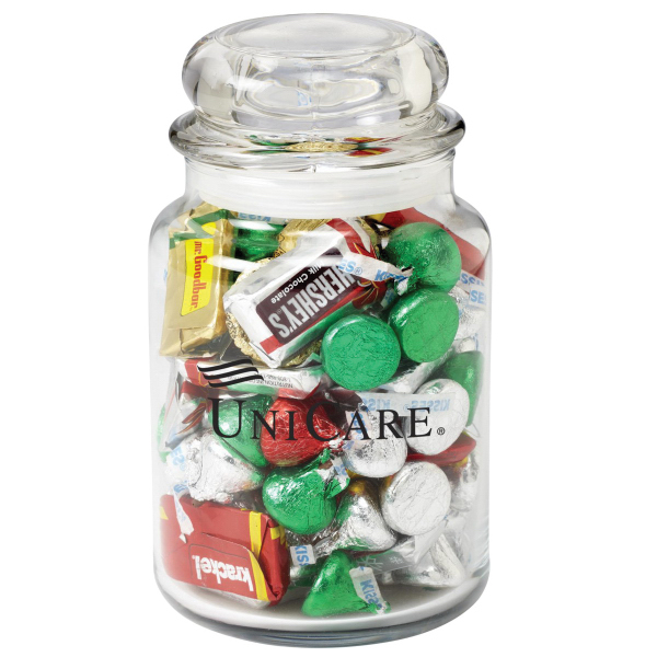 Hershey's (R) Holiday Mix in Apothecary Jar
