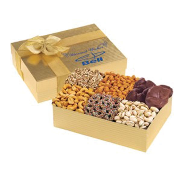 Premium Treat Selection with Nuts, Toffee and More