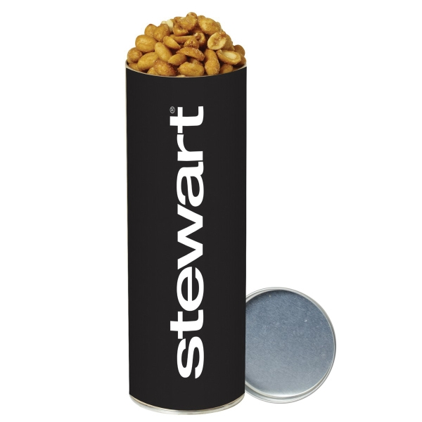 Honey Roasted Peanuts in Large Snack Tube