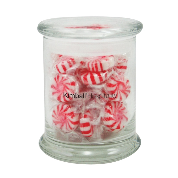 6.3 oz. Starlight Mints in Glass Status Jar