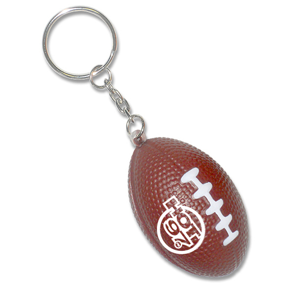 Personalized Sports Ball Keychain