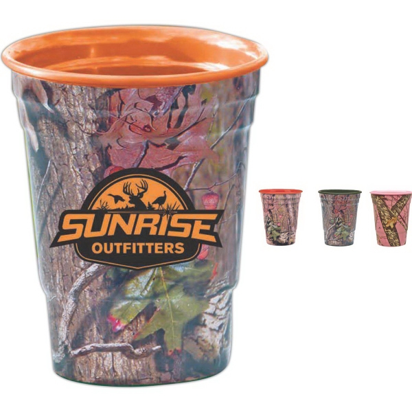 Mossy Oak Fill Up Cup