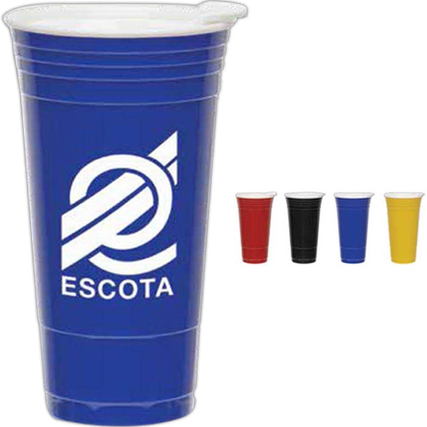 Imprinted Fill Up Cups - 20 oz
