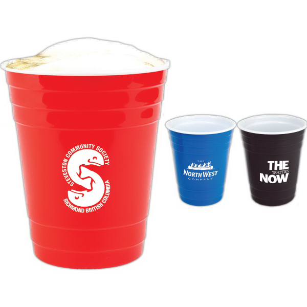 The Social Reusable Party Cup