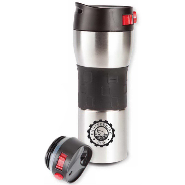 The Secure Vacuum 15 Oz Double Wall Stainless Steel Tumbler