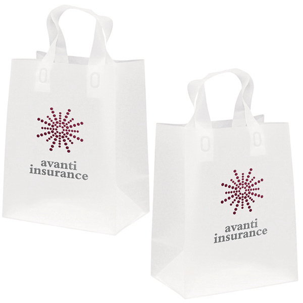 Printed Soft Loop Frosted Shoppers