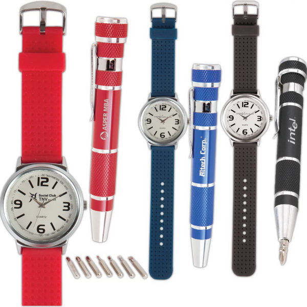 The Madison View Watch And Travel Pocket Tool Gift Set