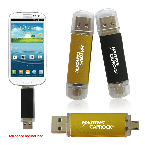 3 in 1 Flash Memory Drive for Smart Phones