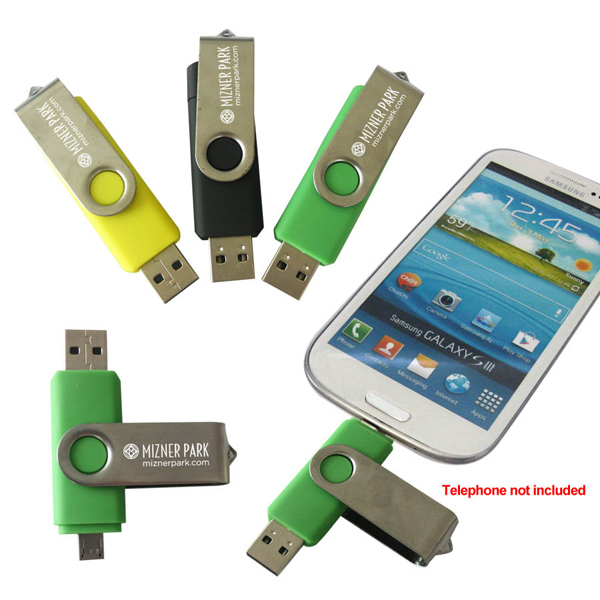 Customized Flash Memory Drive for Smart Phones
