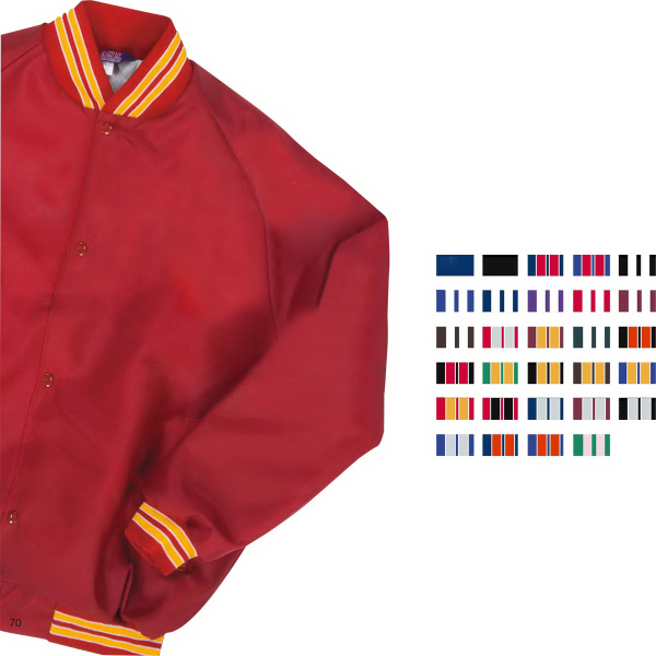 Westark Youth Oxford Solid Quilt Lined Baseball Jacket