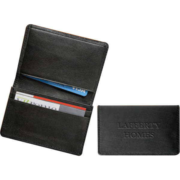 Personalized Deluxe Business Card Case