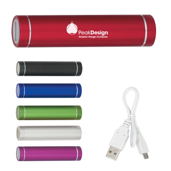 Aluminum Portable Charger