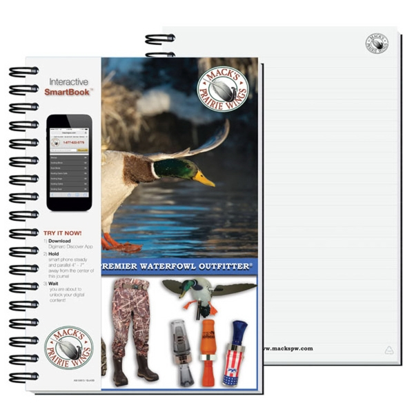 Interactive Smart Book Journal with Pen Safe