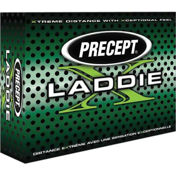 Promotional Precept Laddie X golf ball