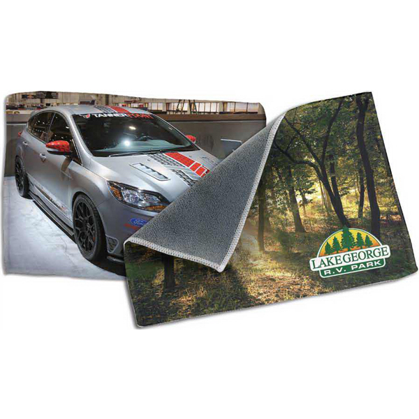 """Deluxe dual sided microfiber cloth 5""""x7"""""""