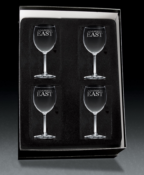 White Wine 4-piece giftset
