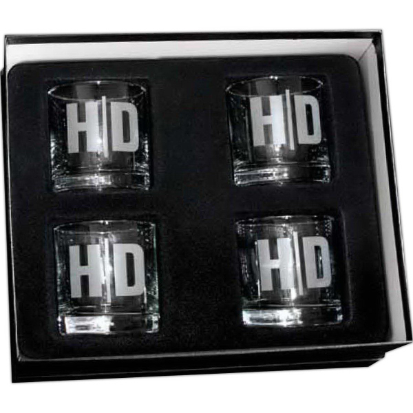 Old Fashioned 4-piece giftset
