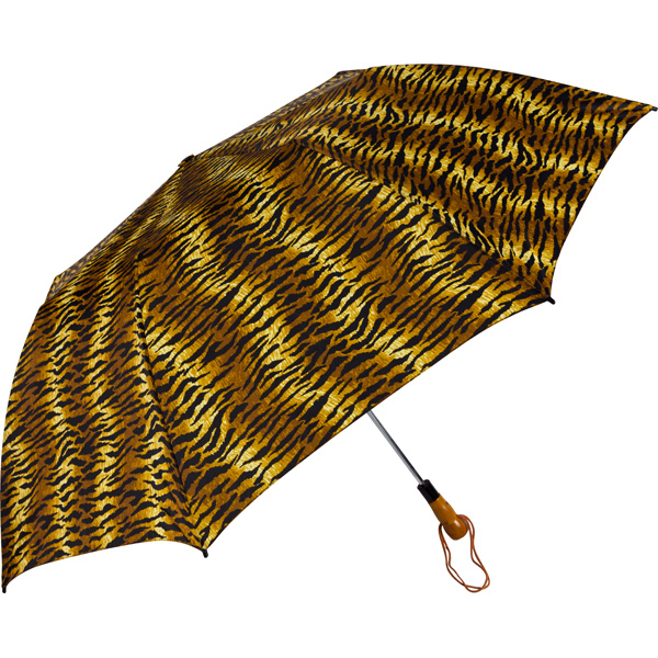 Folding Tiger Stripes Umbrella