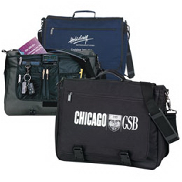 Customized Deluxe Expandable Briefcase
