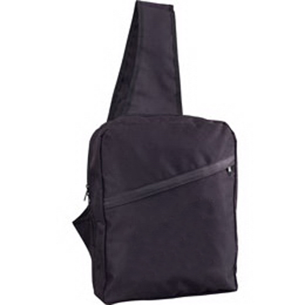 Imprinted Sling Backpack