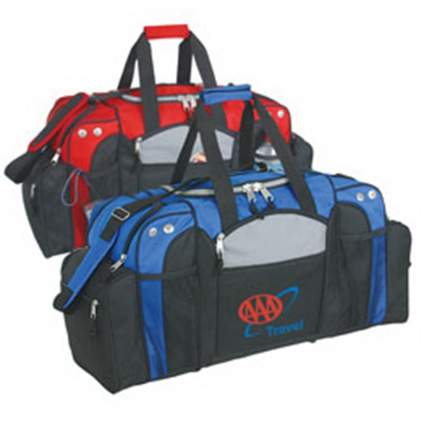 Customized Deluxe Sports Bag