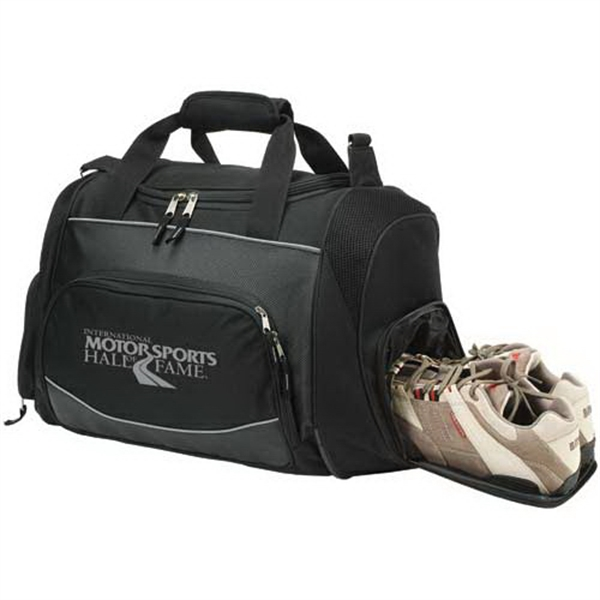 Printed Polyester sports bag
