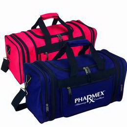 Printed Polyester sports / travel bag