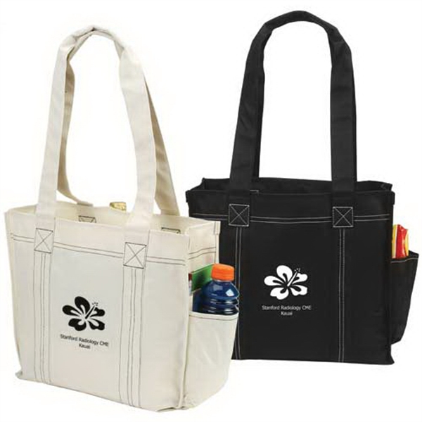 Promotional Contrast Tote Bag