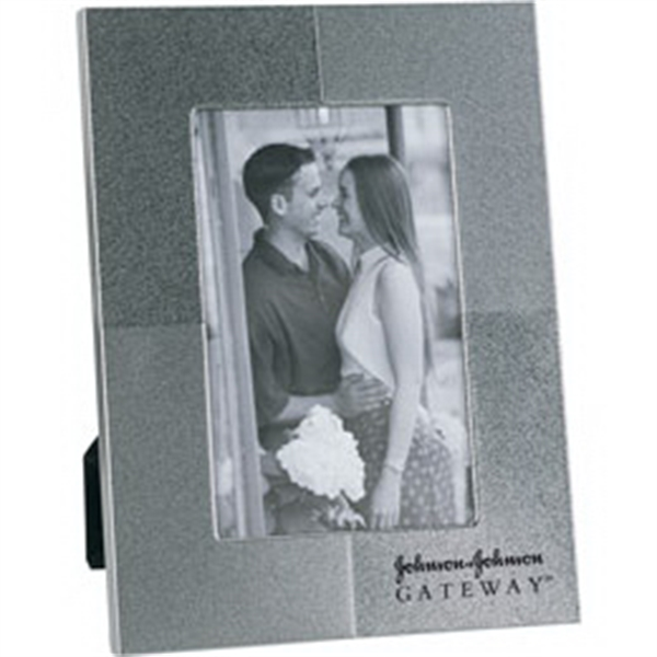 Personalized Two-Tolne Style Metal Picture Frame