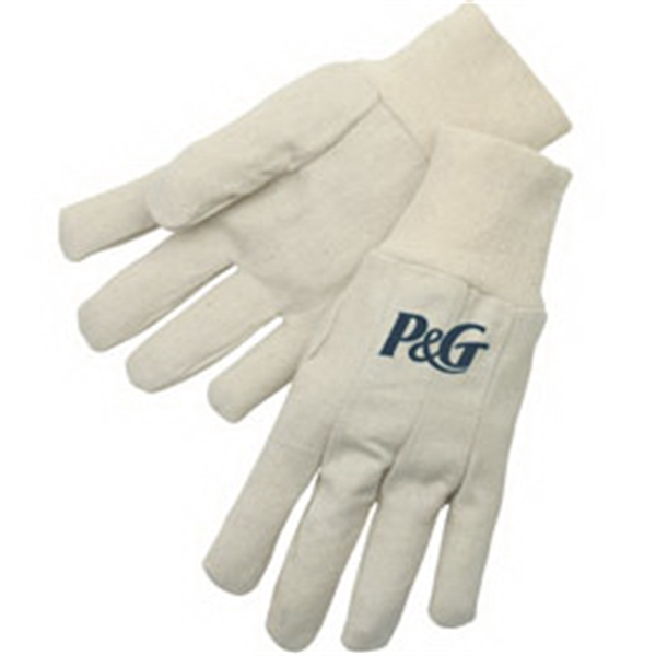 Custom Canvas Gloves with Natural Knit Wrist