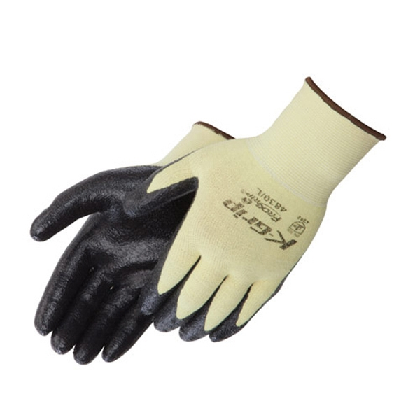 Customized Ultra-Thin Nitrile Palm Coated Cut Resistant Gloves