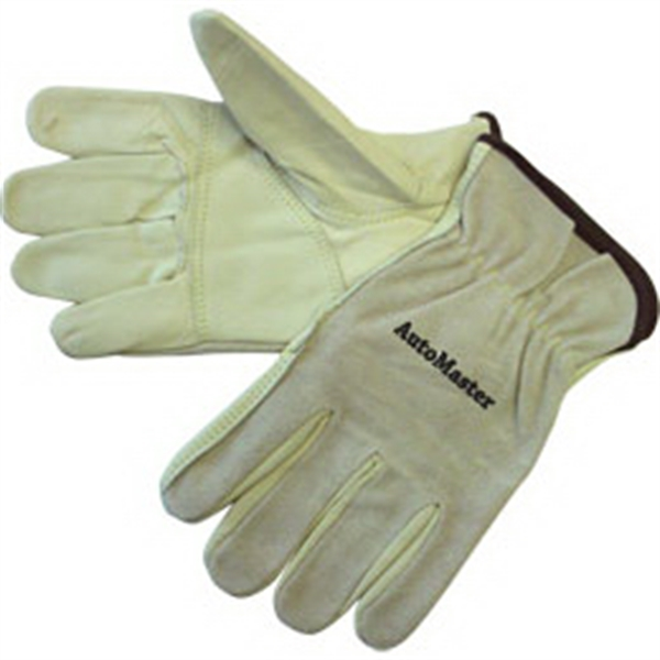 Personalized Driver gloves with grain patched palm
