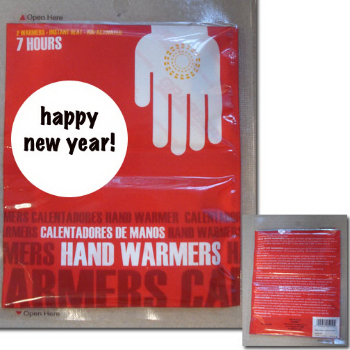 Promotional Set of 2 hand warmers