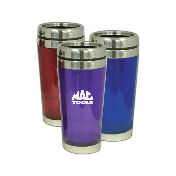 Promotional 12 oz travel coffee mug