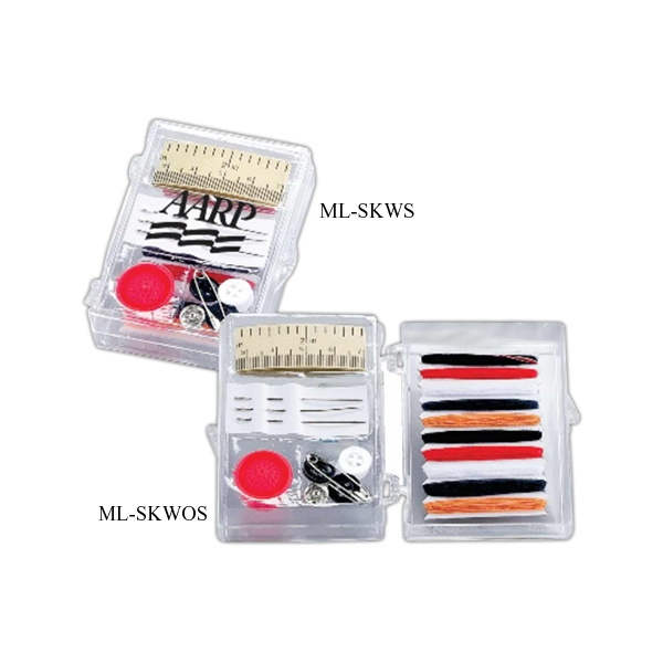 Printed Premium travel sewing kit