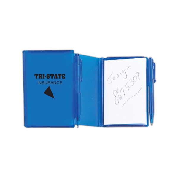 Personalized Translucent colored jotter pad