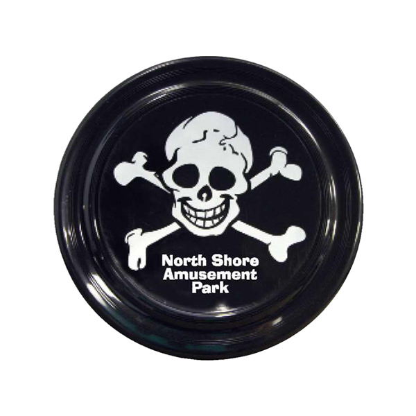 "Imprinted 9"" Pirate flying disc"
