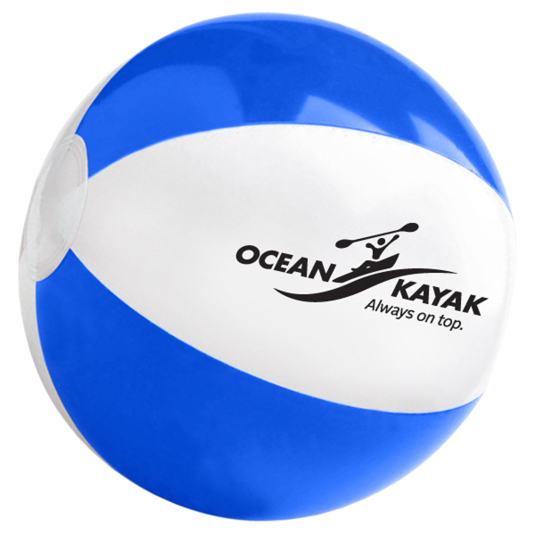 "Promotional 12"" beach ball"