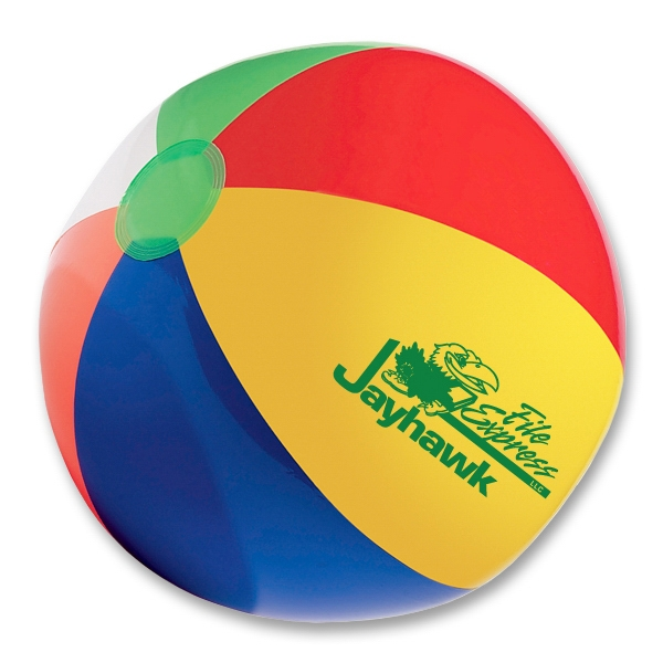 "Printed 16"" beach ball"