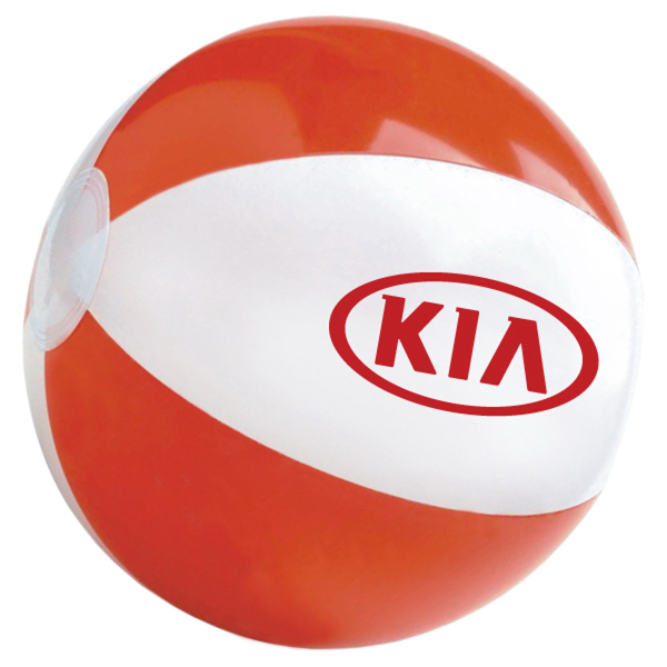 "Customized 16"" beach ball"