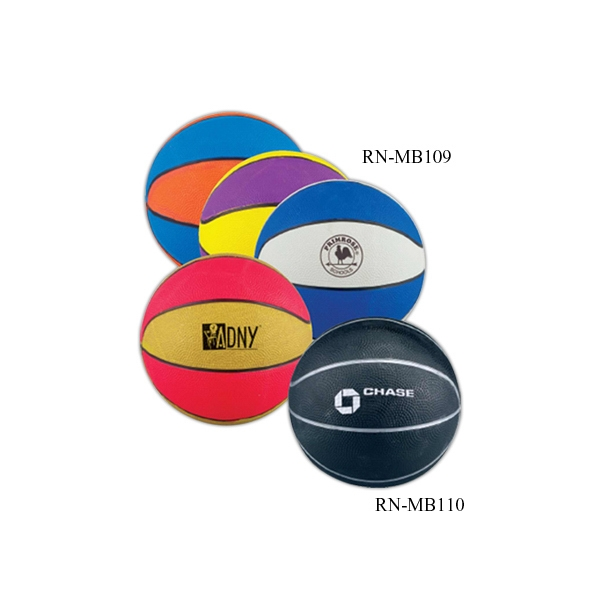 "Promotional 7"" Bright Color Basketball"
