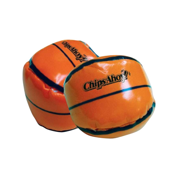 "Custom 2"" basketball style bean bag ball hacky sack"