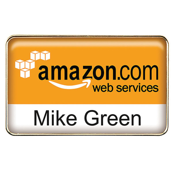 Promotional Die Cast Metal Name Badge