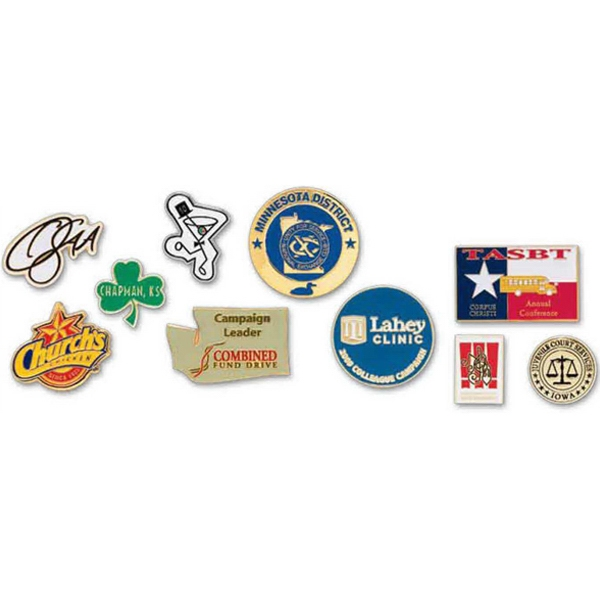 Iron Soft Enamel Custom Shaped Pin