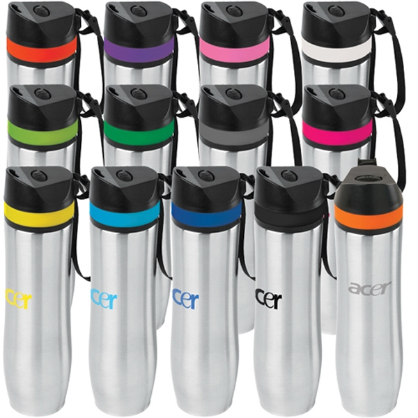 20 oz Persona Stainless Steel Vacuum  Water Bottle